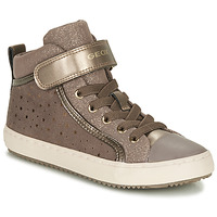 Shoes Girl Low top trainers Geox KALISPERE Beige