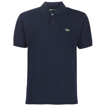 material Men short-sleeved polo shirts Lacoste POLO L12 12 REGULAR Marine