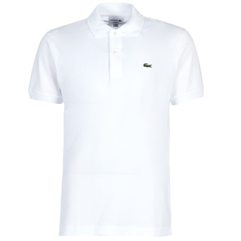 material Men short-sleeved polo shirts Lacoste POLO L12 12 REGULAR White