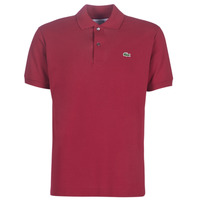 material Men short-sleeved polo shirts Lacoste POLO L12 12 REGULAR Bordeaux