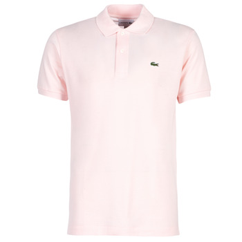 material Men short-sleeved polo shirts Lacoste POLO L12 12 REGULAR Pink