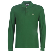 material Men long-sleeved polo shirts Lacoste L1312 Green