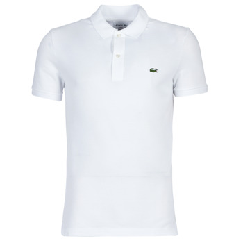 material Men short-sleeved polo shirts Lacoste PH4012 SLIM White