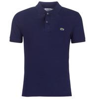 material Men short-sleeved polo shirts Lacoste PH4012 SLIM Marine