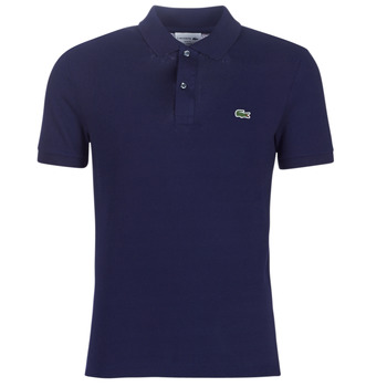 material Men short-sleeved polo shirts Lacoste PH4012 SLIM Marine