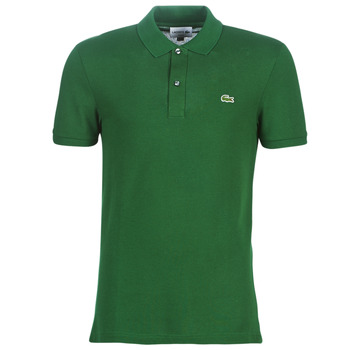 material Men short-sleeved polo shirts Lacoste PH4012 SLIM Green