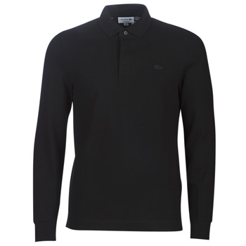 material Men long-sleeved polo shirts Lacoste PH2481 REGULAR Black