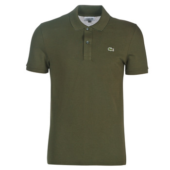 material Men short-sleeved polo shirts Lacoste PH4012 SLIM Kaki