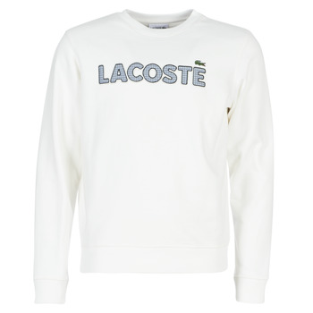 material Men sweaters Lacoste SH8632 White