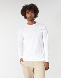 material Men Long sleeved shirts Lacoste TH6712 White