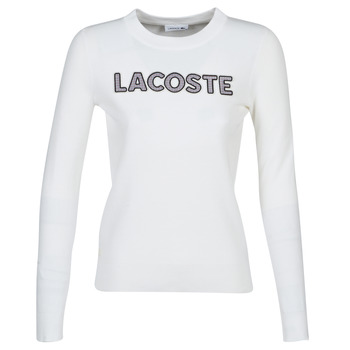 material Women sweaters Lacoste AF8763 White