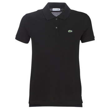 material Women short-sleeved polo shirts Lacoste PF7839 Black