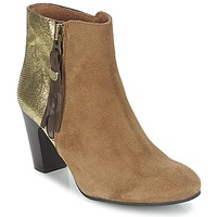 Shoes Women Ankle boots Lollipops VEGA BOOTS 1 Brown / Gold