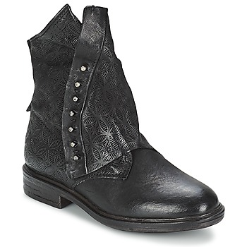 Shoes Women Mid boots Airstep / A.S.98 ETIENNE Black