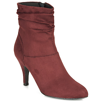 Shoes Women Ankle boots André LINE Bordeaux