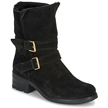 Shoes Women Mid boots André MAJOLIE Black