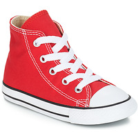 Shoes Children High top trainers Converse CHUCK TAYLOR ALL STAR CORE HI Red