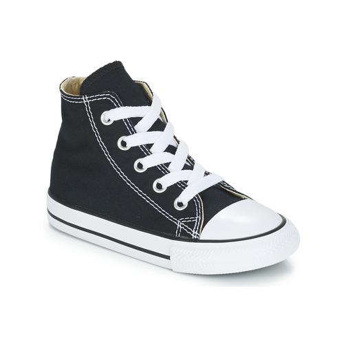 05e7842e76db Shoes Children High top trainers Converse CHUCK TAYLOR ALL STAR CORE HI  Black