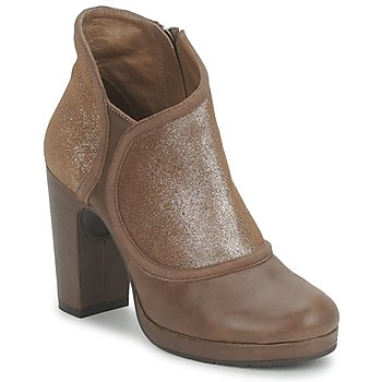 Shoes Women Low boots Esska TILLY Brown / Glitter