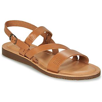 Shoes Women Sandals TBS BEATTYS Cognac