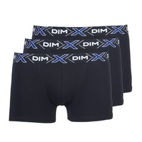 Underwear Men Boxer shorts DIM X-TEMP BOXER x3 Black