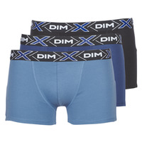 Underwear Men Boxer shorts DIM X-TEMP BOXER x3 Blue / Marine / Black
