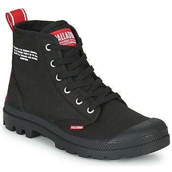 Shoes Mid boots Palladium PAMPA HI DU C Black