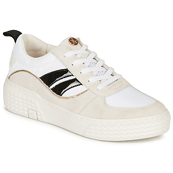 Shoes Women Low top trainers Palladium EGO 01 PLO White / Beige / Black