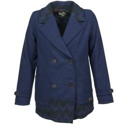 material Women coats Roxy MOONLIGHT JACKET MARINE / Black