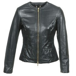 material Women Leather jackets / Imitation le Geox ASALA Black