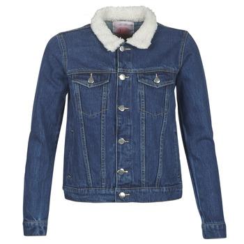 material Women Denim jackets Moony Mood LOTITO Blue / Medium