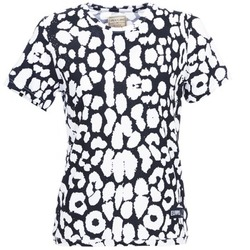 material Women short-sleeved t-shirts Eleven Paris BIRINA Black