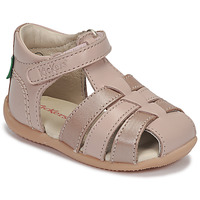 Shoes Girl Sandals Kickers BIGFLO-2 Pink / Metal