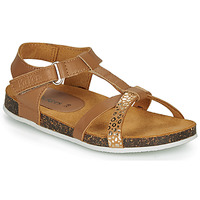 Shoes Girl Sandals Kickers BODERY Camel / Gold / Leopard