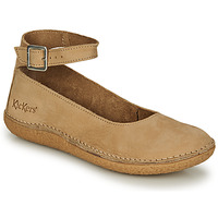 Shoes Women Ballerinas Kickers HONNORA Beige