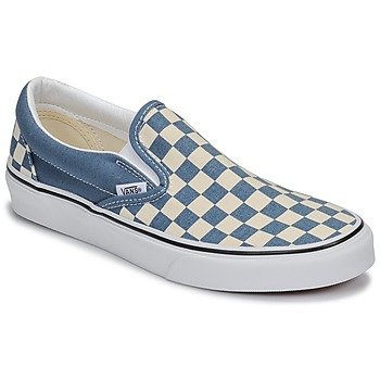 Shoes Slip ons Vans CLASSIC SLIP-ON Blue / White