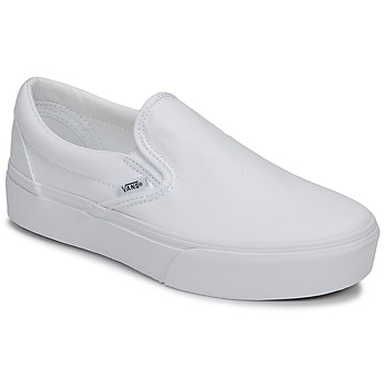 Shoes Women Slip ons Vans CLASSIC SLIP-ON PLATFORM White