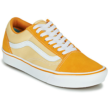 Shoes Women Low top trainers Vans COMFYCUSH OLD SKOOL Yellow
