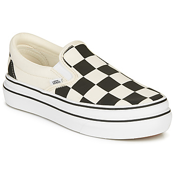 Shoes Women Slip ons Vans SUPER COMFYCUSH SLIP-ON White / Black