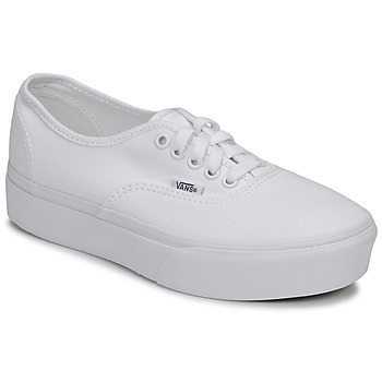 Shoes Women Low top trainers Vans AUTHENTIC PLATFORM 2.0 White