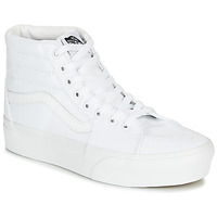 Shoes Women High top trainers Vans SK8-HI PLATFORM 2.0 White