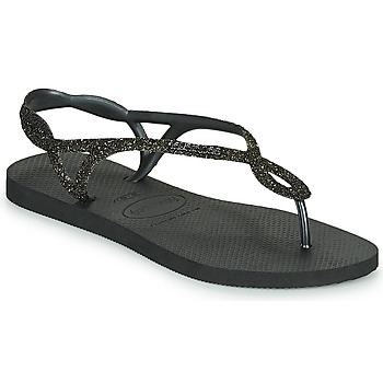 Shoes Women Flip flops Havaianas LUNA PREMIUM Black