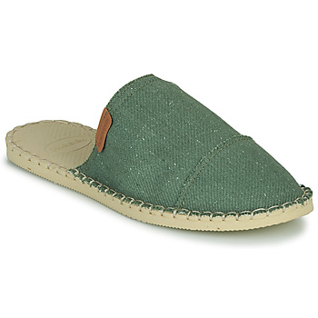 Shoes Women Mules Havaianas ORIGINE FREE Green