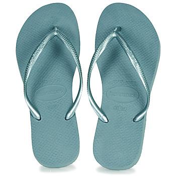 Shoes Women Flip flops Havaianas SLIM Blue