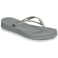 Shoes Women Flip flops Havaianas SLIM FLATFORM Grey
