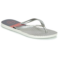 Shoes Women Flip flops Havaianas SLIM NAUTICAL White