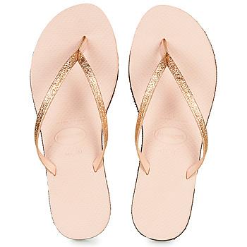 Shoes Women Flip flops Havaianas YOU SHINE Pink
