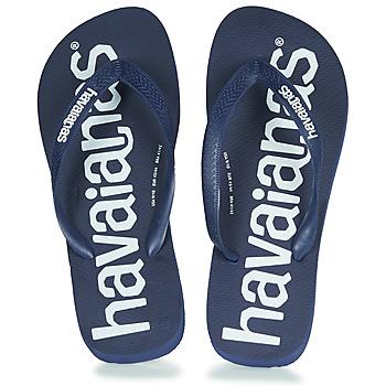 Shoes Flip flops Havaianas TOP LOGOMANIA Navy / Blue