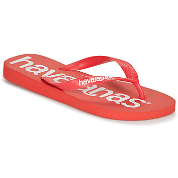 Shoes Men Flip flops Havaianas TOP LOGOMANIA Red