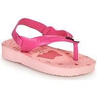 Shoes Girl Flip flops Havaianas BABY DISNEY CLASSICS II Pink